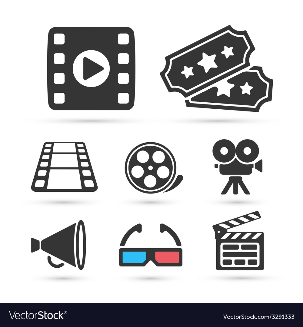 Cinema trendy icon for design elements vector | Price: 1 Credit (USD $1)