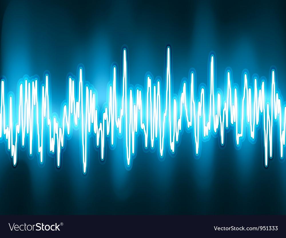 Sound waves vector | Price: 1 Credit (USD $1)