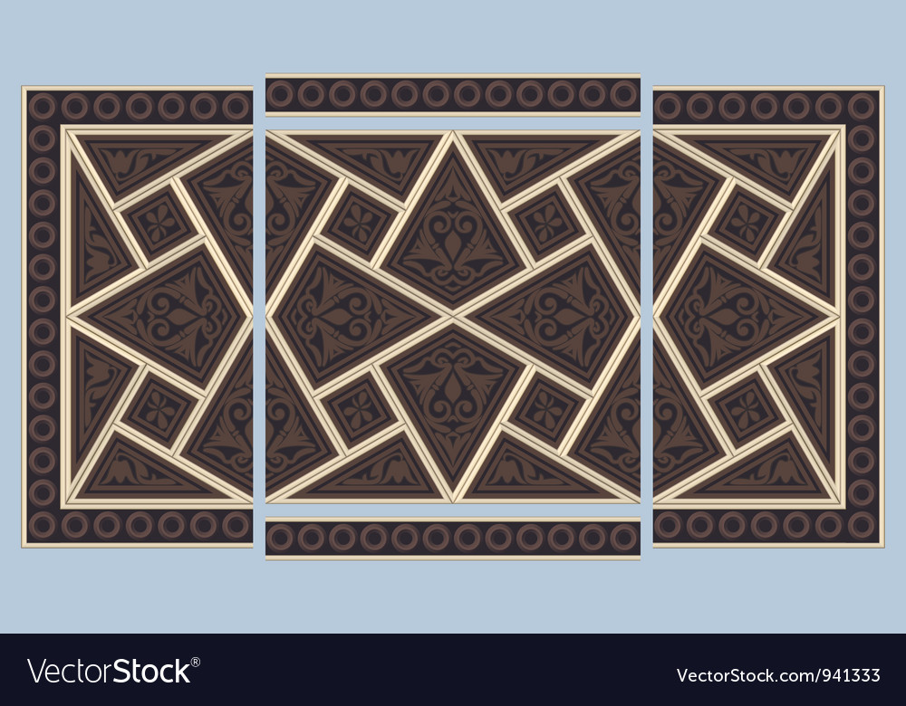 Syrian seamless ornament vector | Price: 1 Credit (USD $1)
