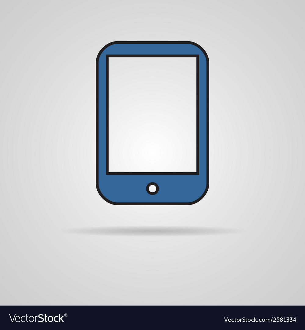 Pictograph of tablet vector | Price: 1 Credit (USD $1)