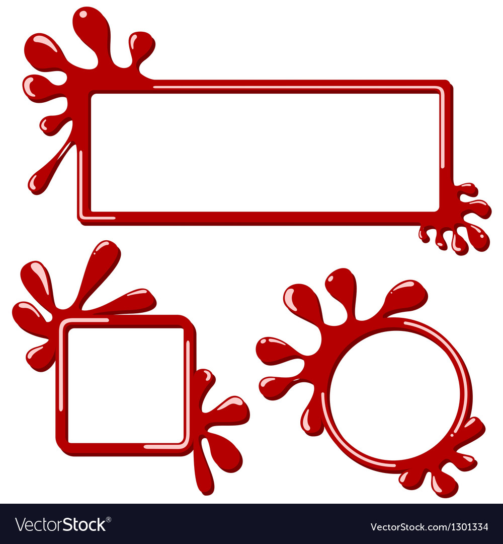 Splash banner vector | Price: 1 Credit (USD $1)