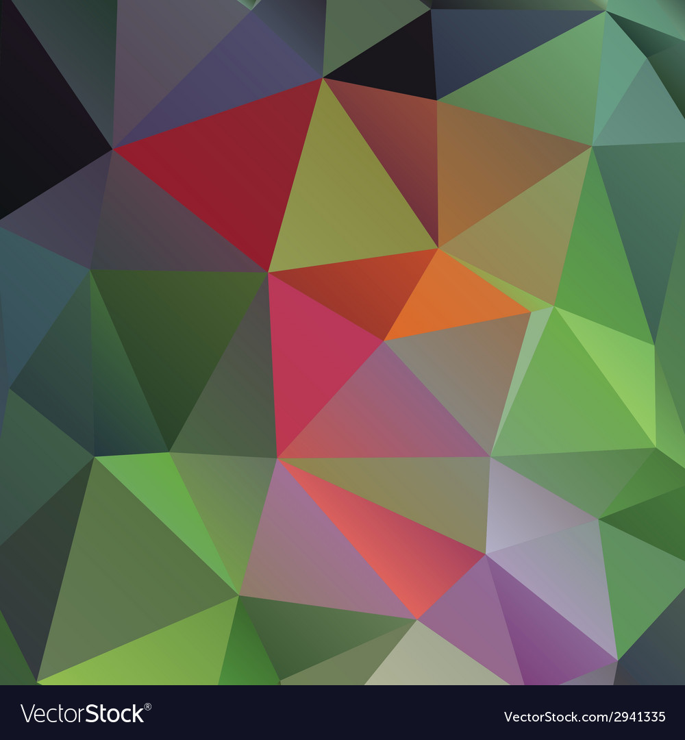 Bright rainbow background from mosaic triangles vector   Price: 1 Credit (USD $1)