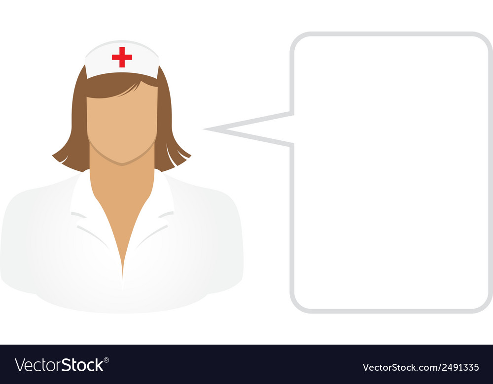 Nurse - avatars and user icons vector | Price: 1 Credit (USD $1)