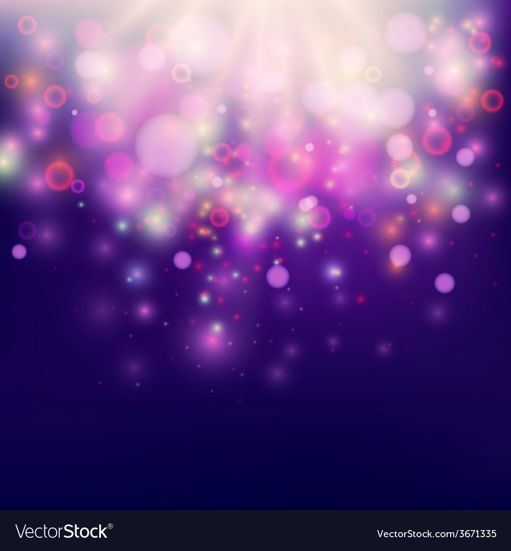 Purple abstract backdrop bokeh background vector | Price: 1 Credit (USD $1)