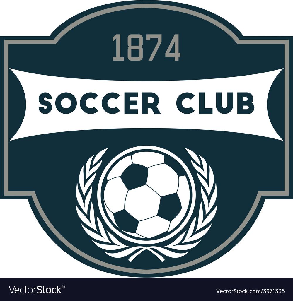 Soccer club vector