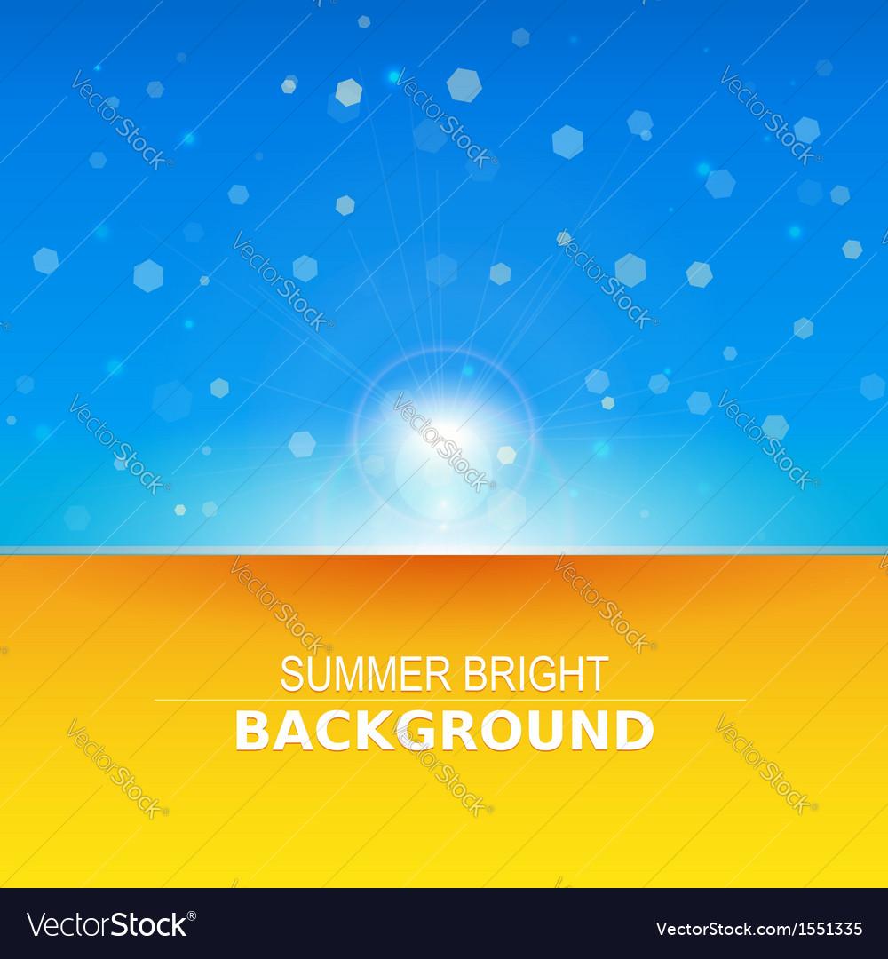Sun rays  sunbeams background vector | Price: 1 Credit (USD $1)