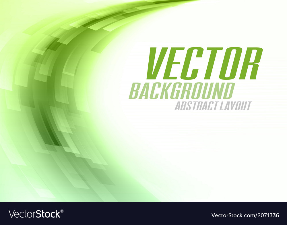 Background curve stripes green white vector   Price: 1 Credit (USD $1)