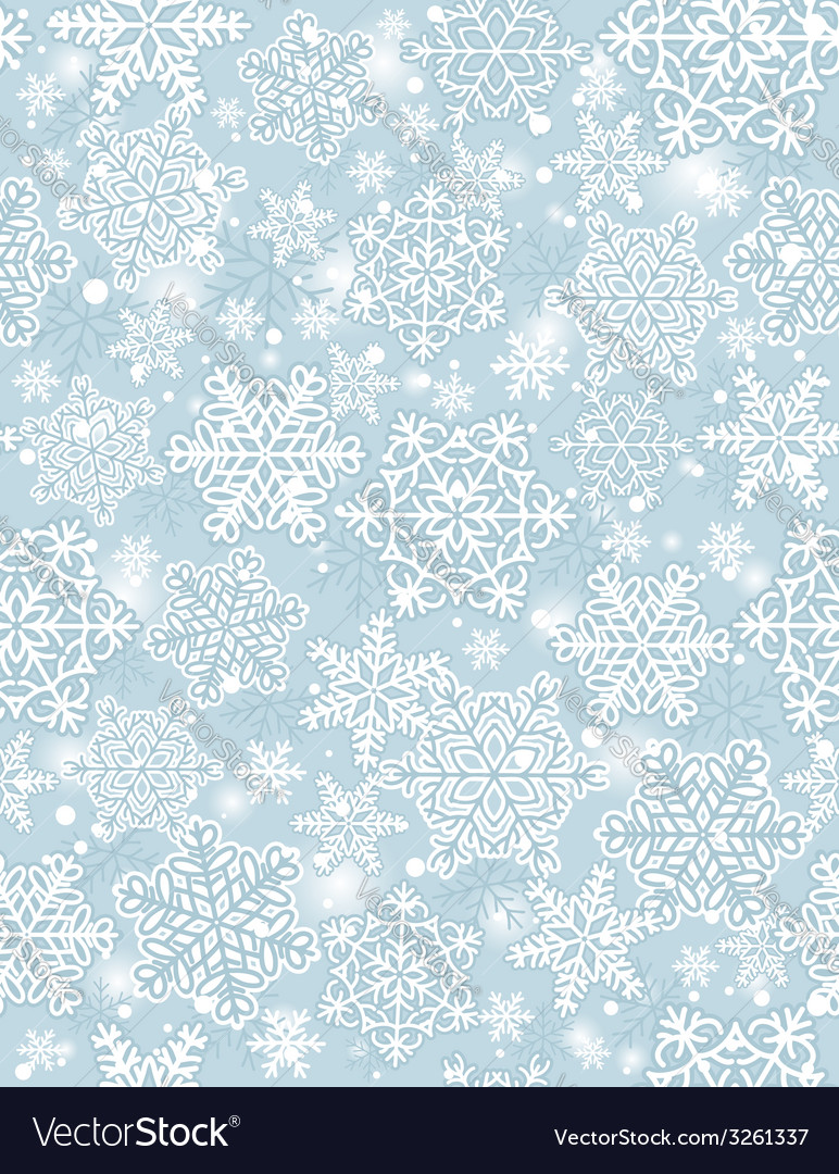 Blue background with snowflakes vector   Price: 1 Credit (USD $1)