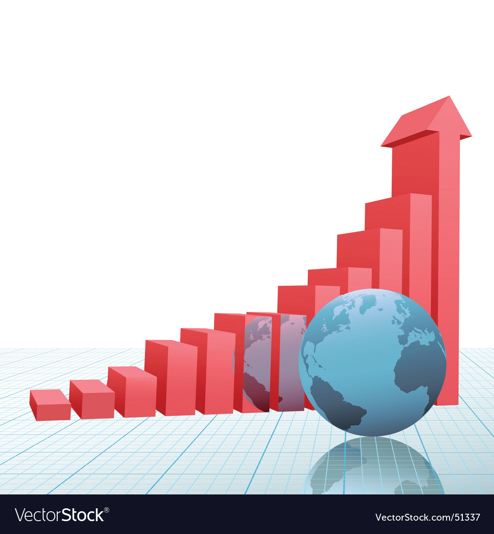 Progress bar chart vector | Price: 1 Credit (USD $1)