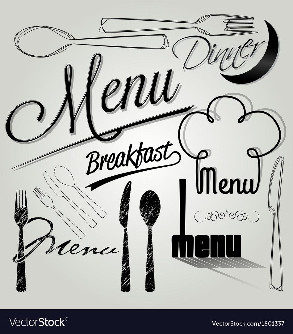 Restaurant menu card design vector | Price: 1 Credit (USD $1)