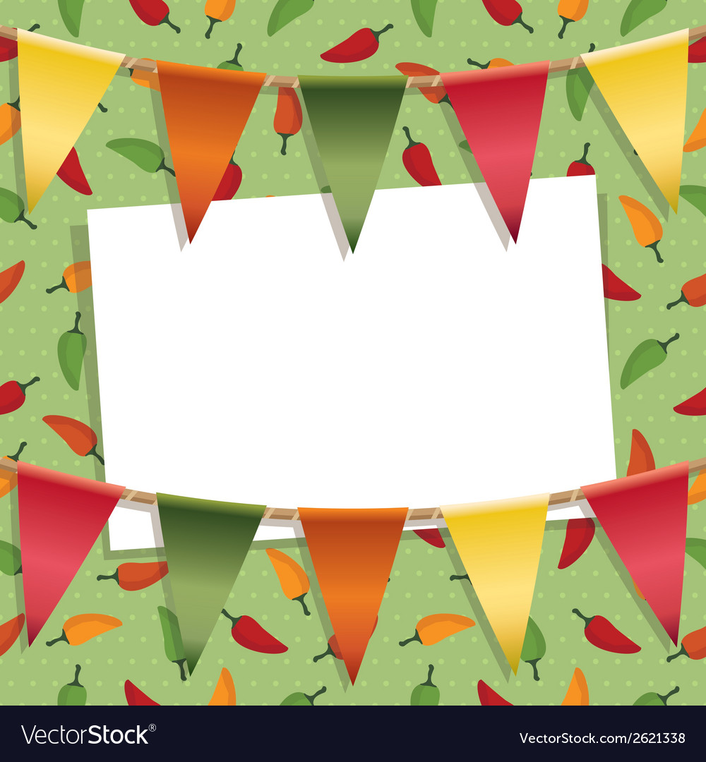 Chili pepper decoration vector | Price: 1 Credit (USD $1)