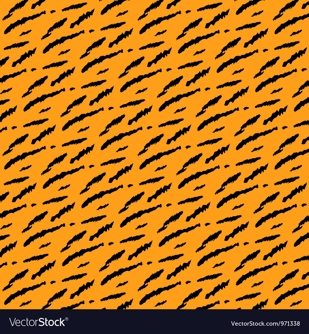 Tiger style background vector | Price: 1 Credit (USD $1)