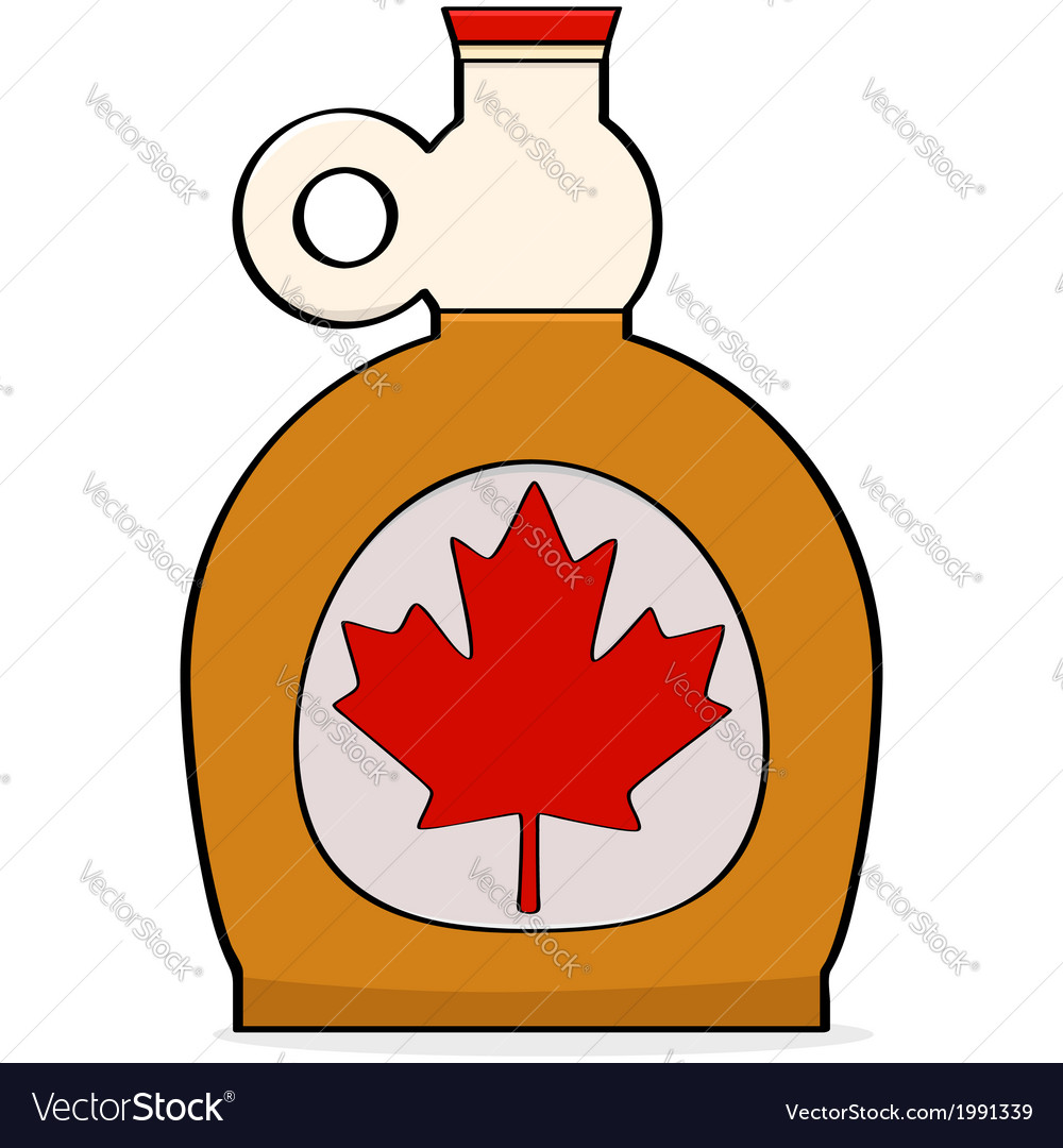 Maple syrup vector | Price: 1 Credit (USD $1)