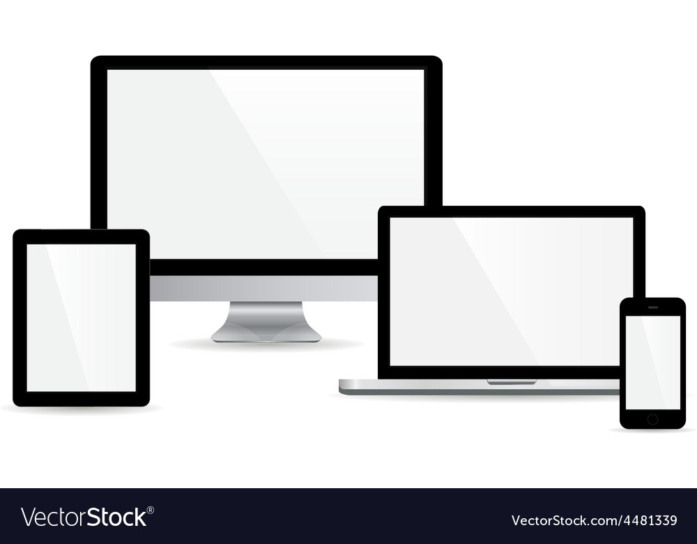Set of gadget vector | Price: 1 Credit (USD $1)
