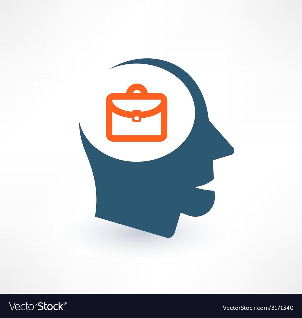 Businessman icon logo design vector | Price: 1 Credit (USD $1)