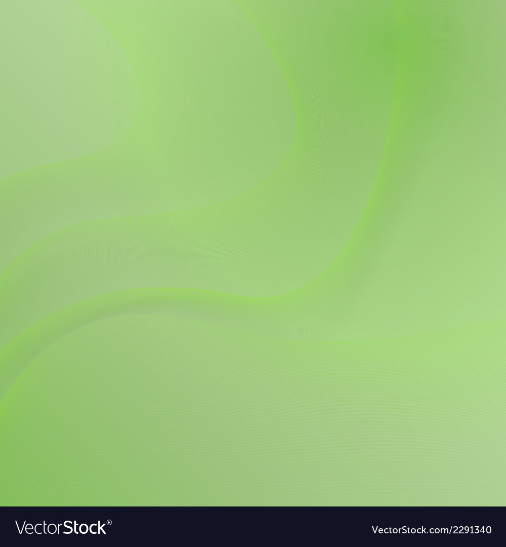 Green background with waves vector | Price: 1 Credit (USD $1)