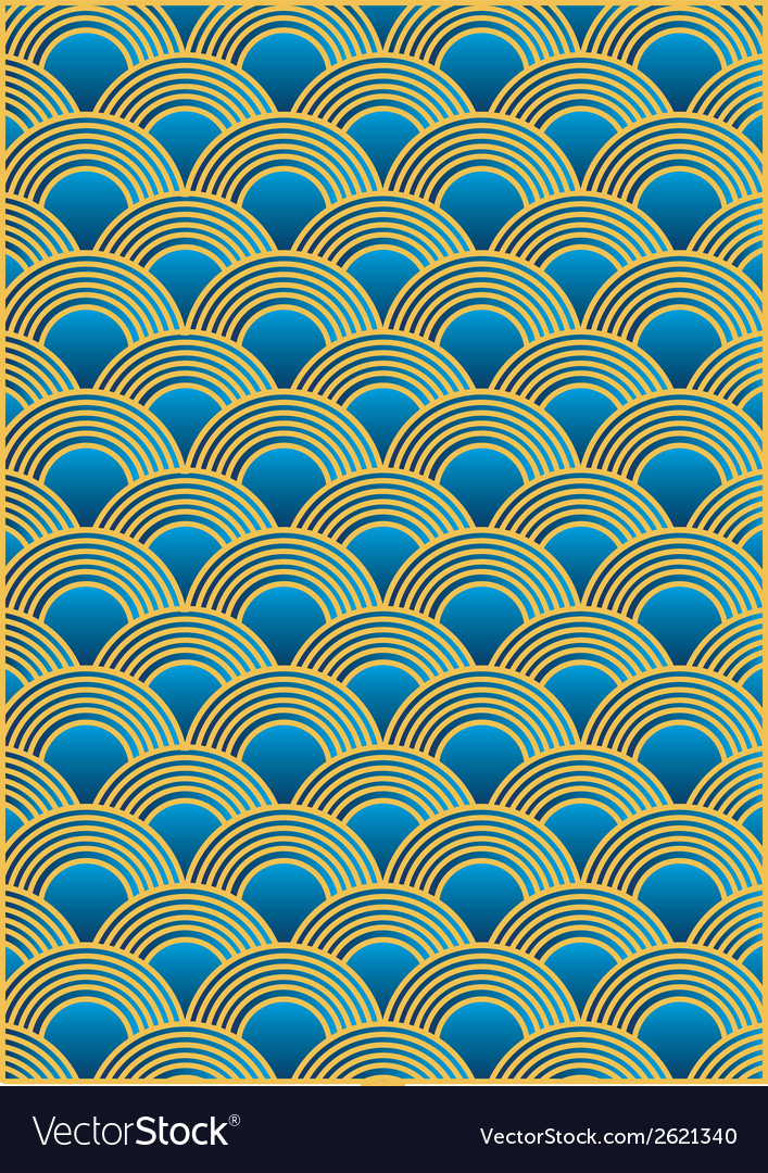 Wave pattern vector | Price: 1 Credit (USD $1)