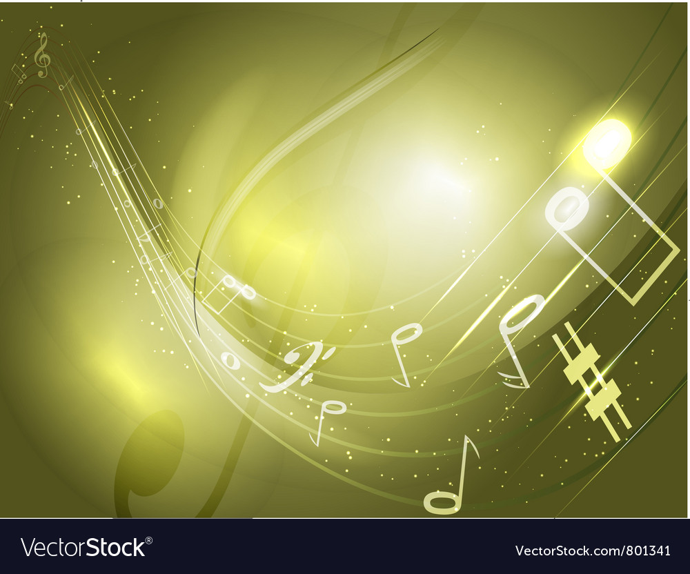 Abstract conceptual music background vector | Price: 1 Credit (USD $1)