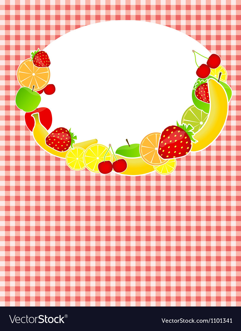 Healthy food menu template vector   Price: 1 Credit (USD $1)
