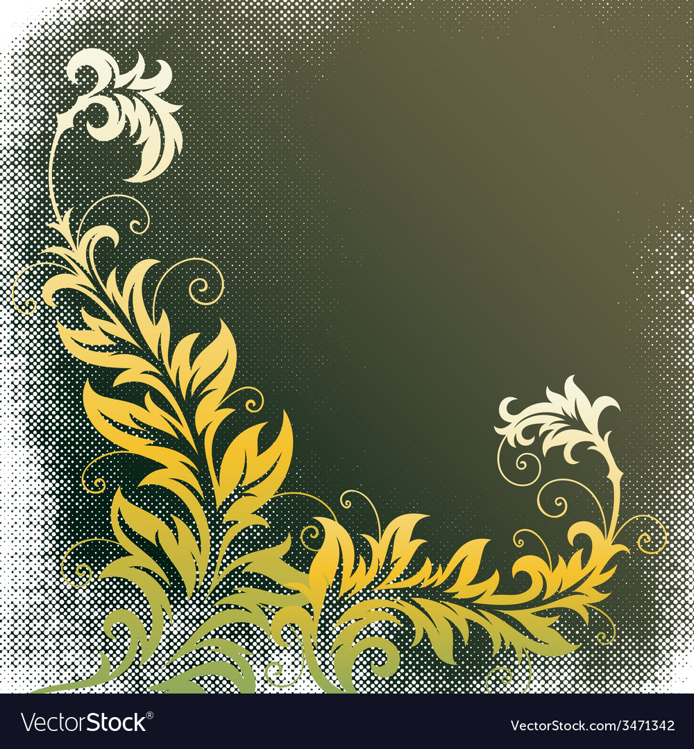8floral line 16 2 vector | Price: 1 Credit (USD $1)