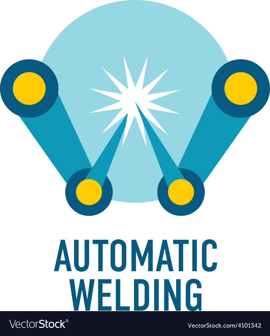 Automatic welding logo template letter w vector | Price: 1 Credit (USD $1)