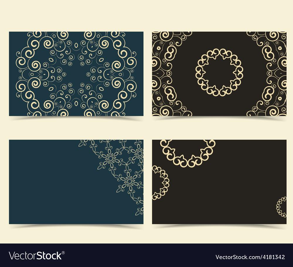Cards designs vector | Price: 1 Credit (USD $1)