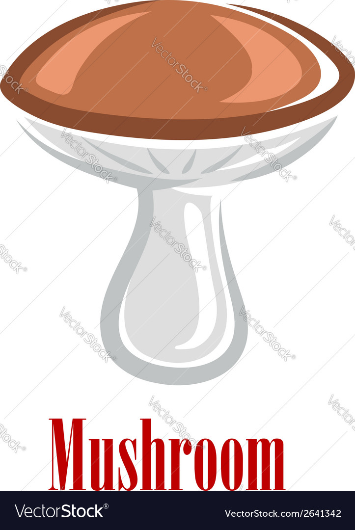 Cartoon mushroom vector | Price: 1 Credit (USD $1)