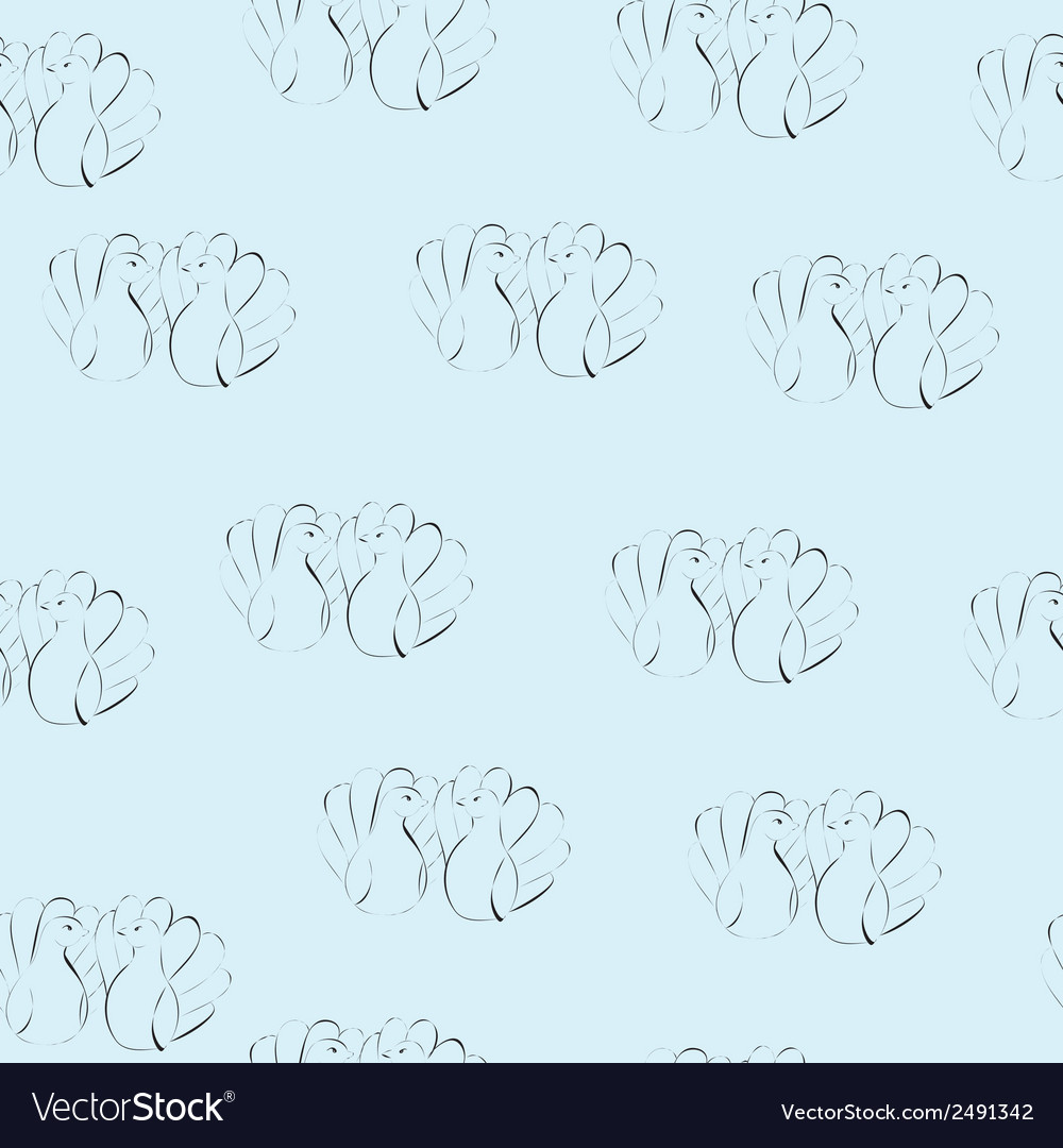 Dove pattern vector | Price: 1 Credit (USD $1)