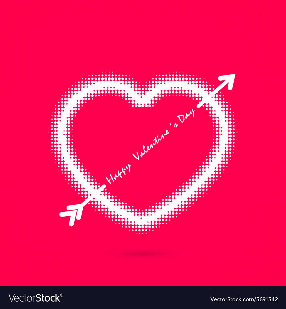 Happy valentines day background vector   Price: 1 Credit (USD $1)