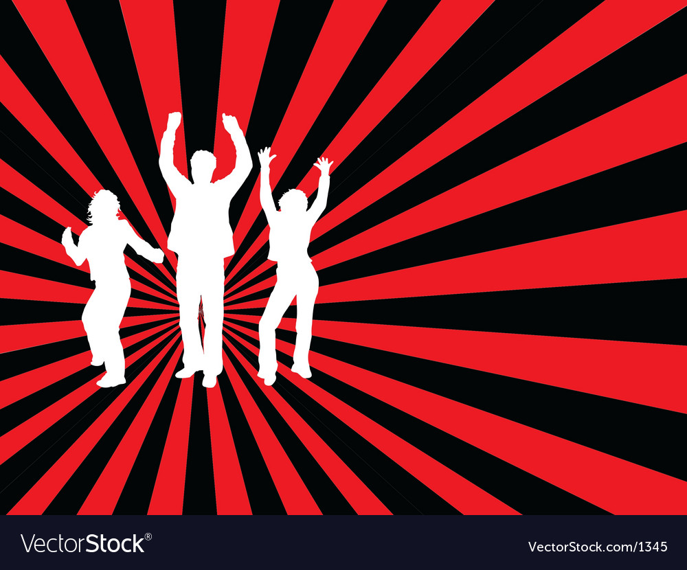 Everybody dance vector | Price: 1 Credit (USD $1)