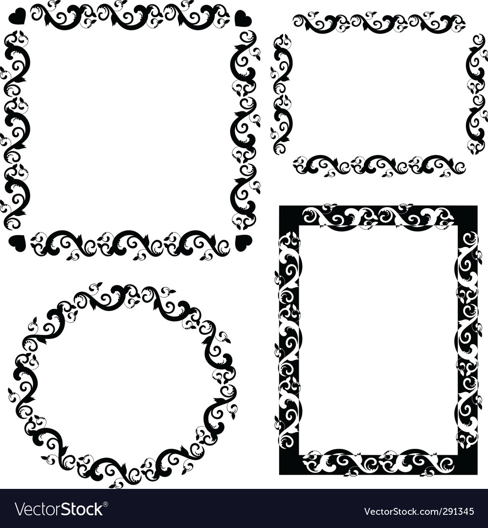 Frame patterned vector | Price: 1 Credit (USD $1)