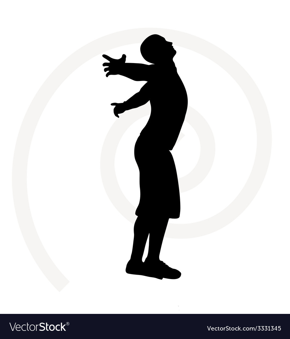 Man silhouette isolated vector | Price: 1 Credit (USD $1)