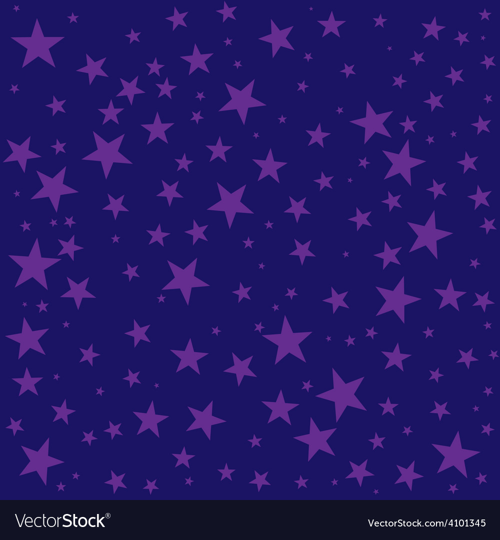 Night sky stars seamless background texture simple vector | Price: 1 Credit (USD $1)