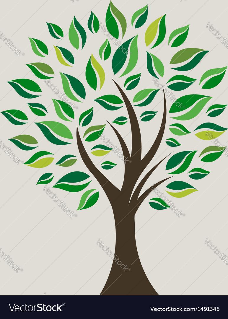 Smart tree vector | Price: 3 Credit (USD $3)