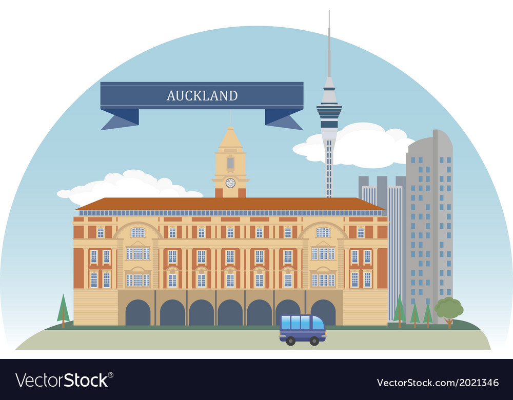 Auckland vector | Price: 1 Credit (USD $1)