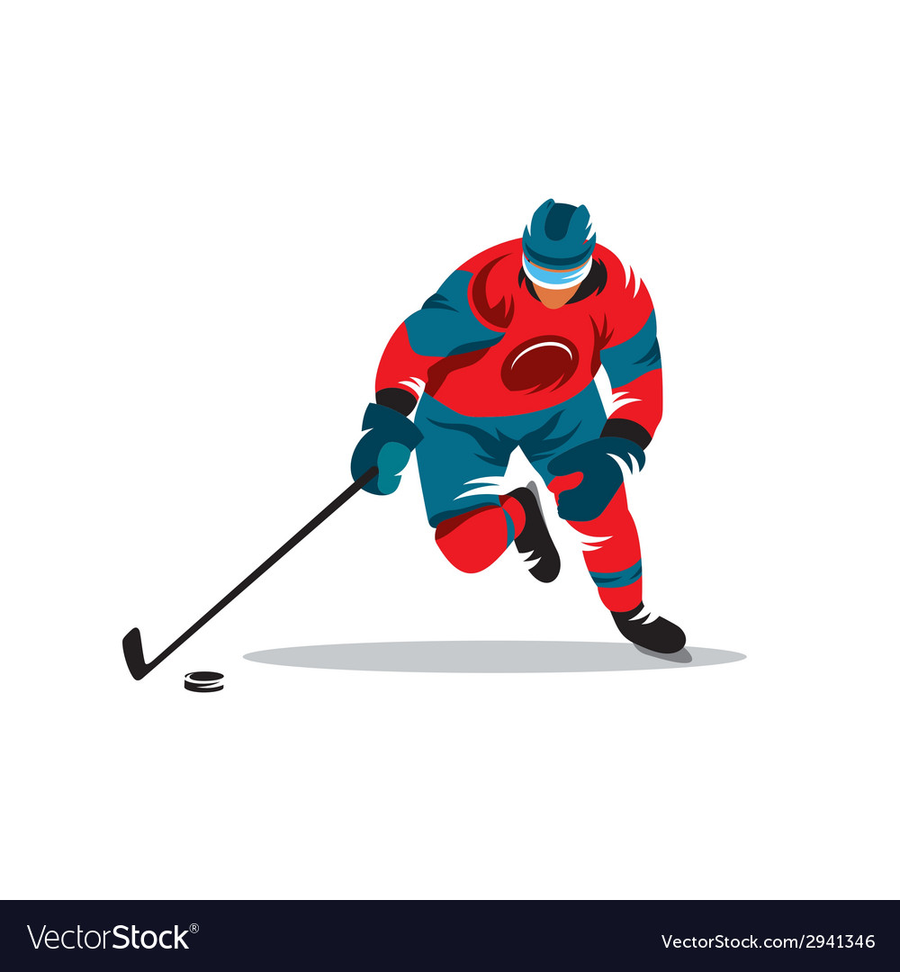Hockey sign vector | Price: 1 Credit (USD $1)