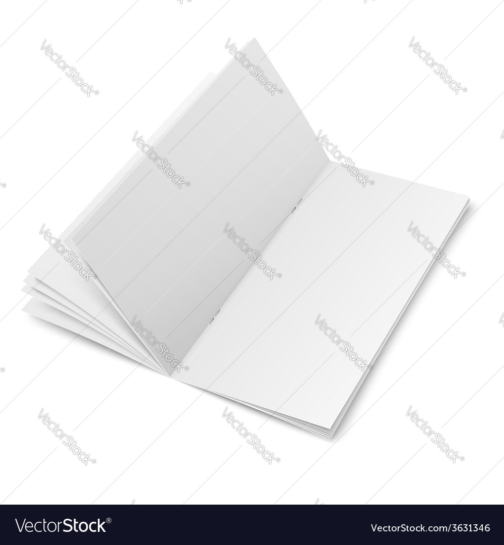 Multipage brochure template on white background vector | Price: 1 Credit (USD $1)
