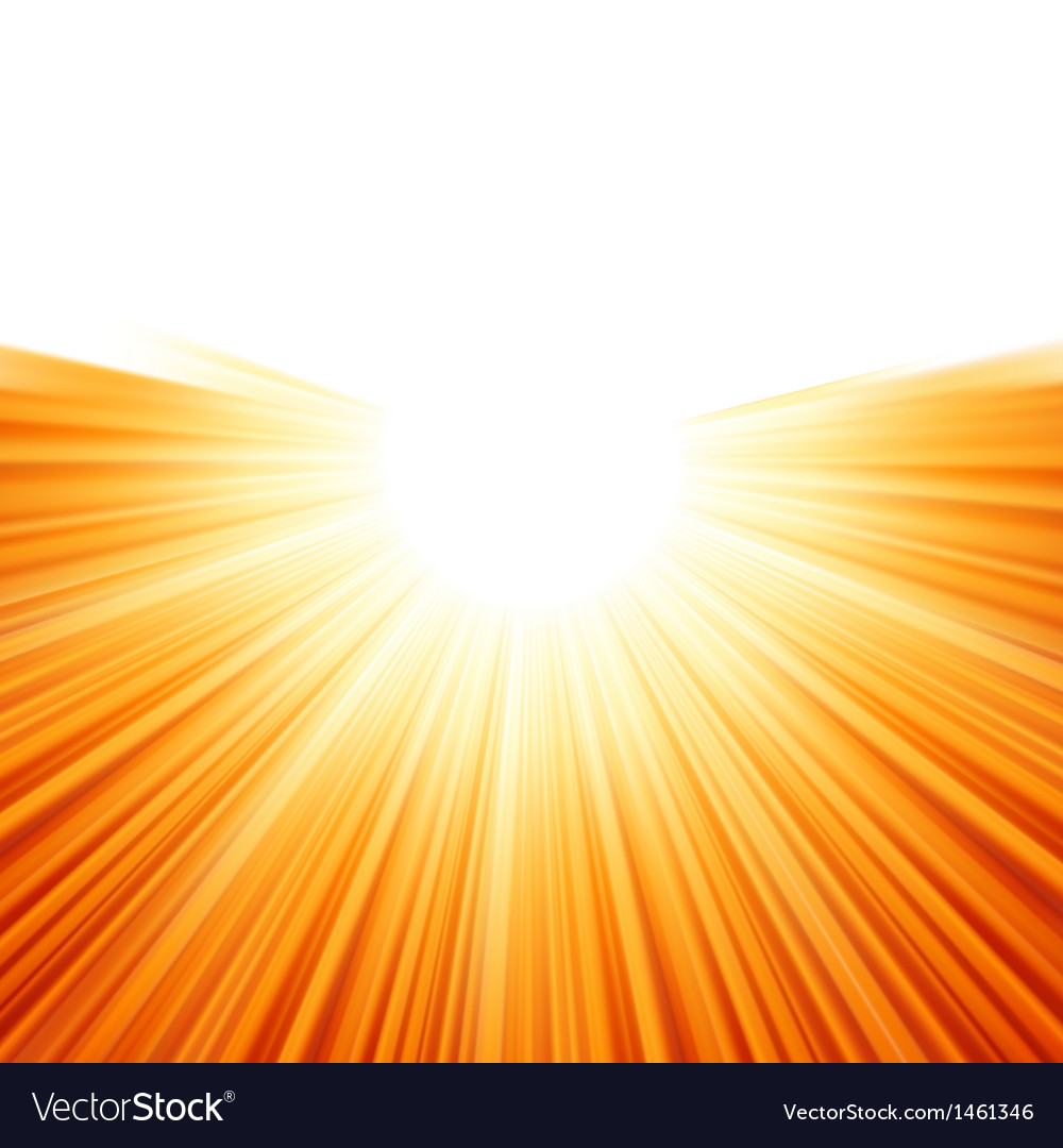 Sunburst rays of sunlight tenplate eps 8 vector | Price: 1 Credit (USD $1)