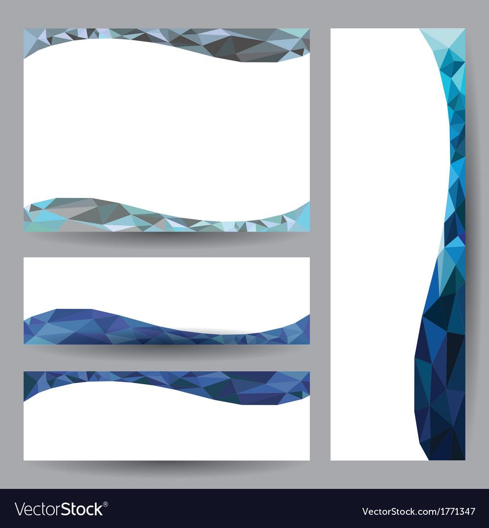 Template card blue element design vector   Price: 1 Credit (USD $1)