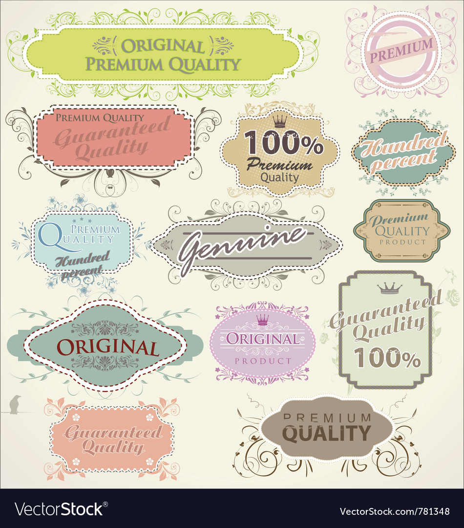 Floral frames premium quality vector | Price: 1 Credit (USD $1)