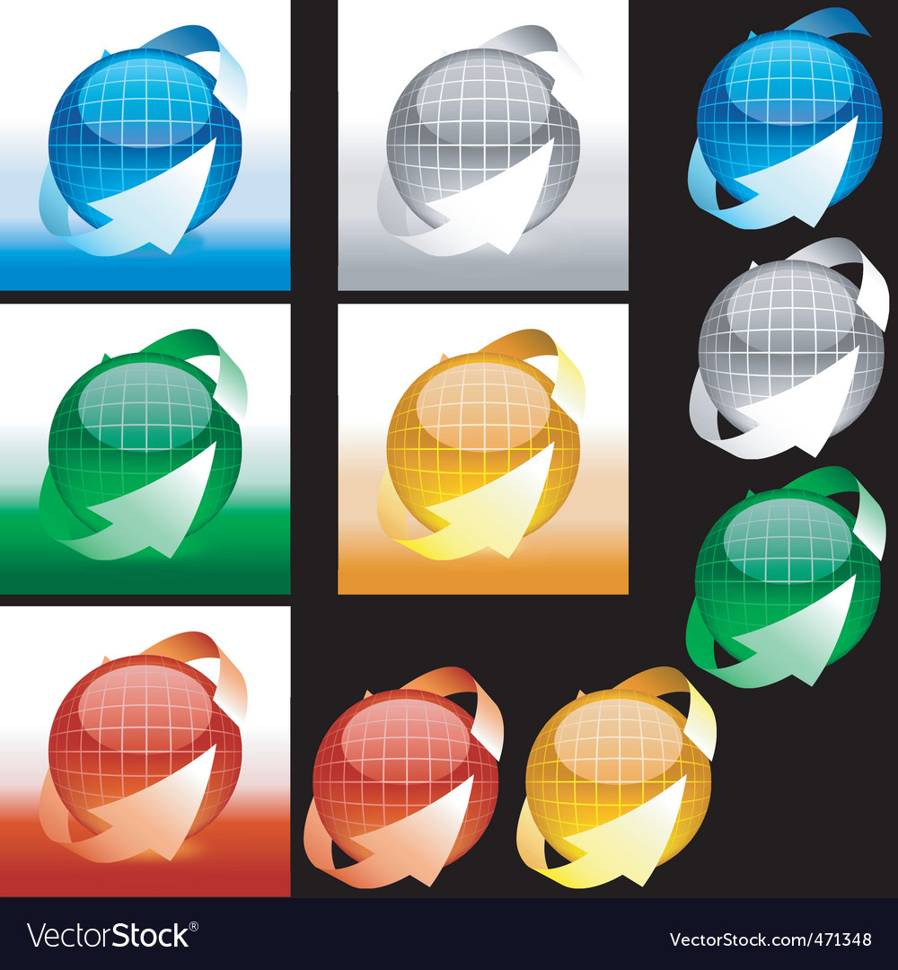 Glossy sphere vector | Price: 1 Credit (USD $1)