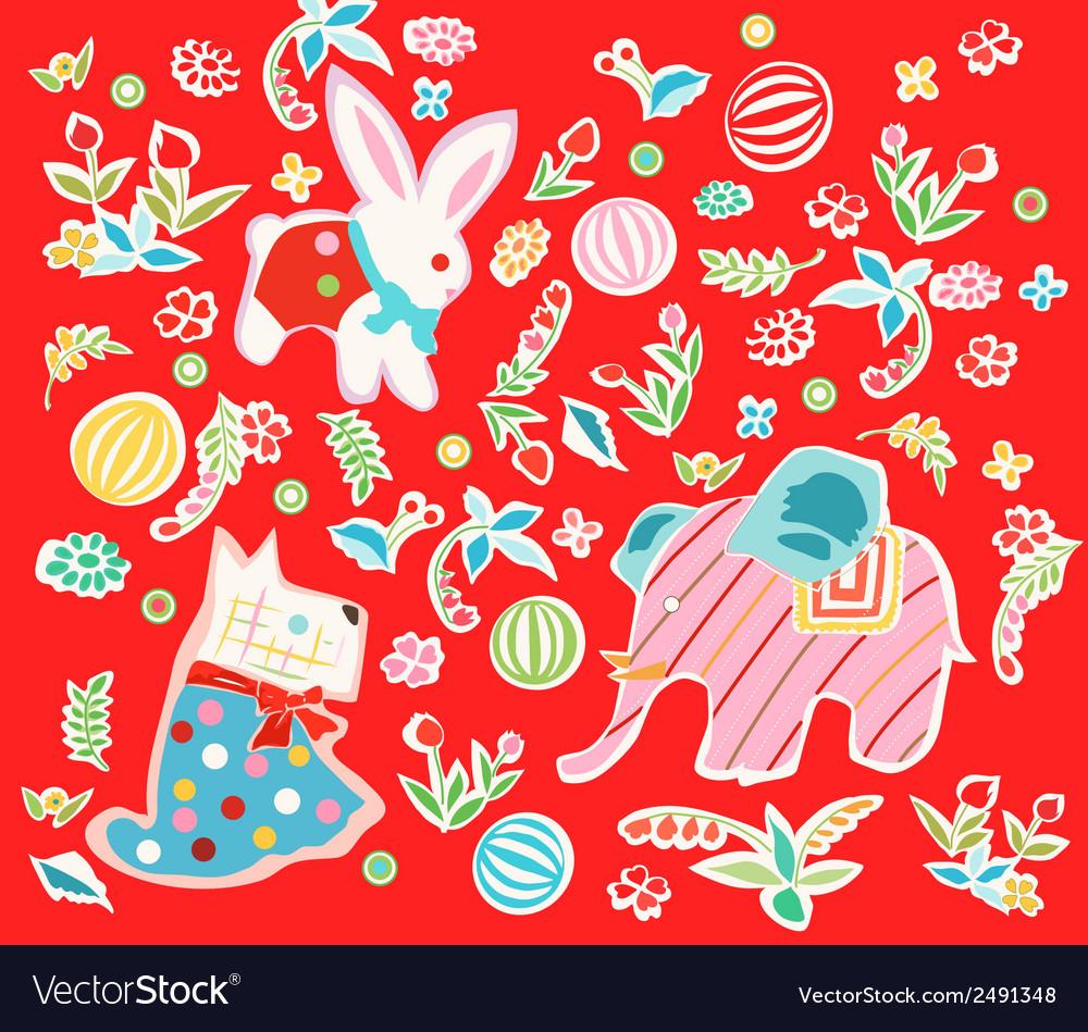Keiki motifs vector | Price: 1 Credit (USD $1)