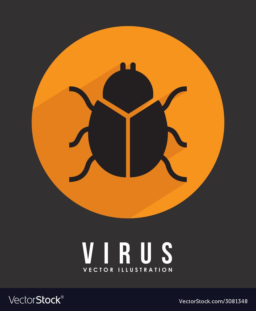 Virus design vector | Price: 1 Credit (USD $1)