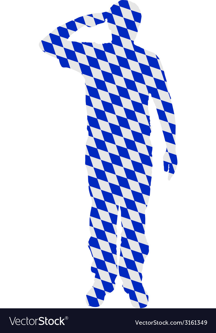 Bavarian salute vector | Price: 1 Credit (USD $1)