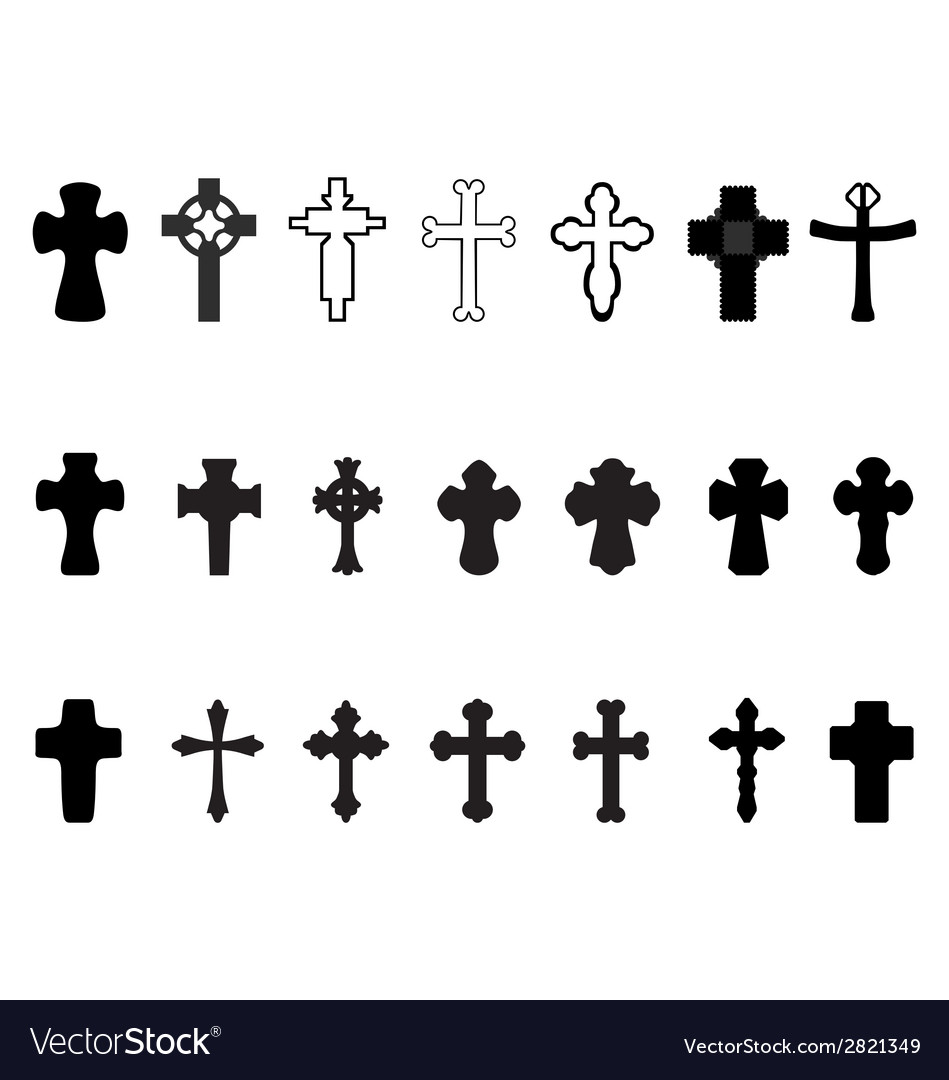 Crosses 2 vector | Price: 1 Credit (USD $1)