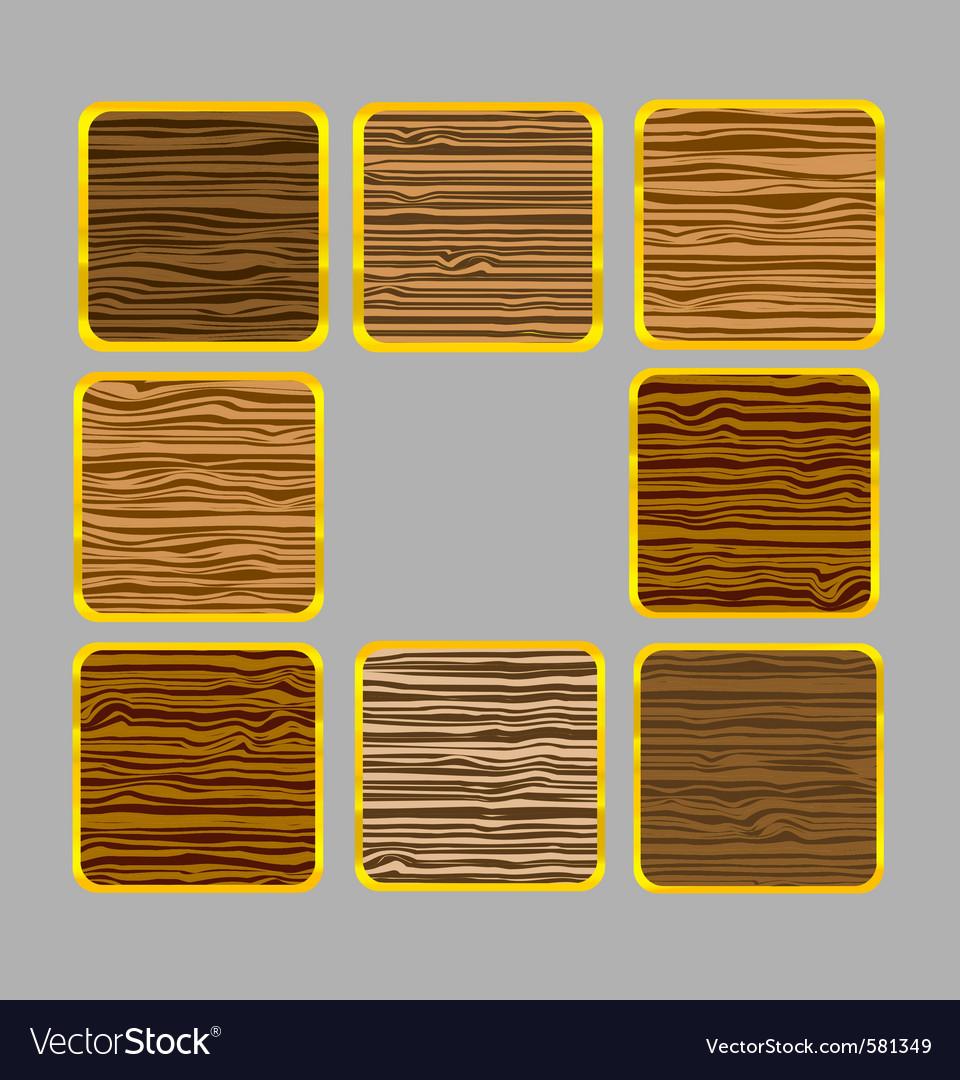 Web wood frames vector | Price: 1 Credit (USD $1)