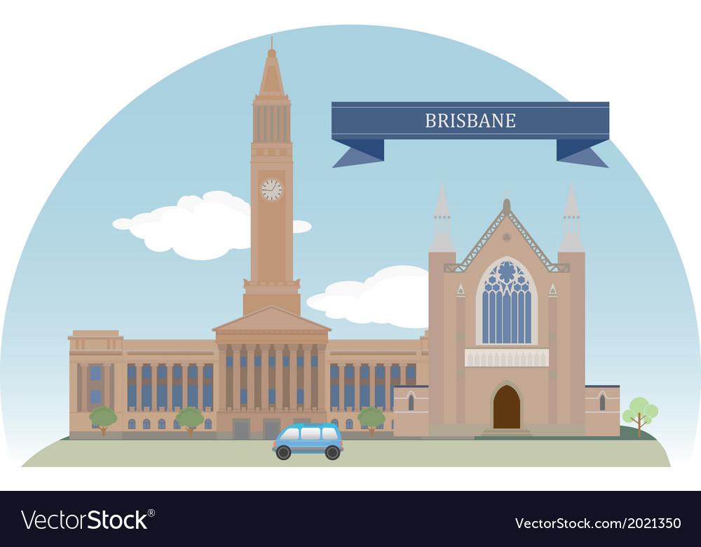 Brisbane vector | Price: 1 Credit (USD $1)