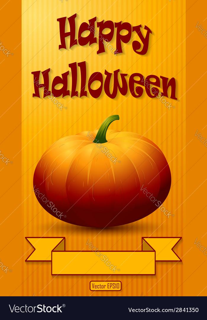 Happy halloween background vector | Price: 1 Credit (USD $1)