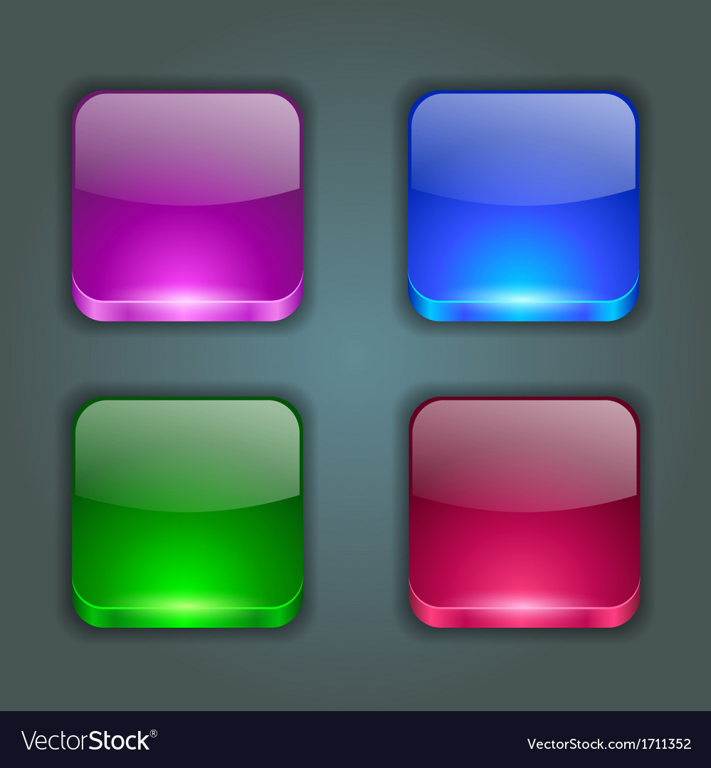 App buttons vector   Price: 1 Credit (USD $1)