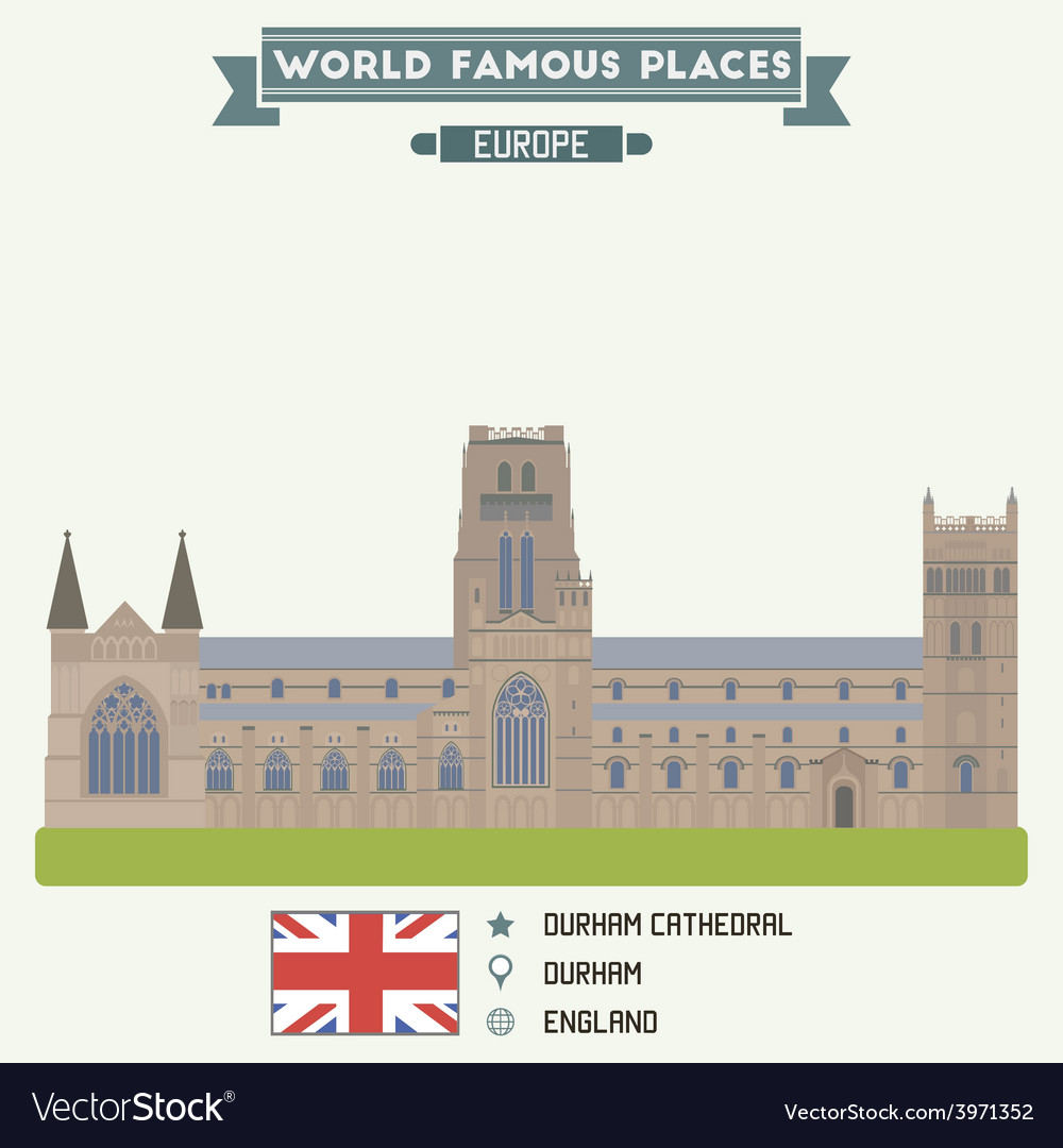 Durham cathedral vector